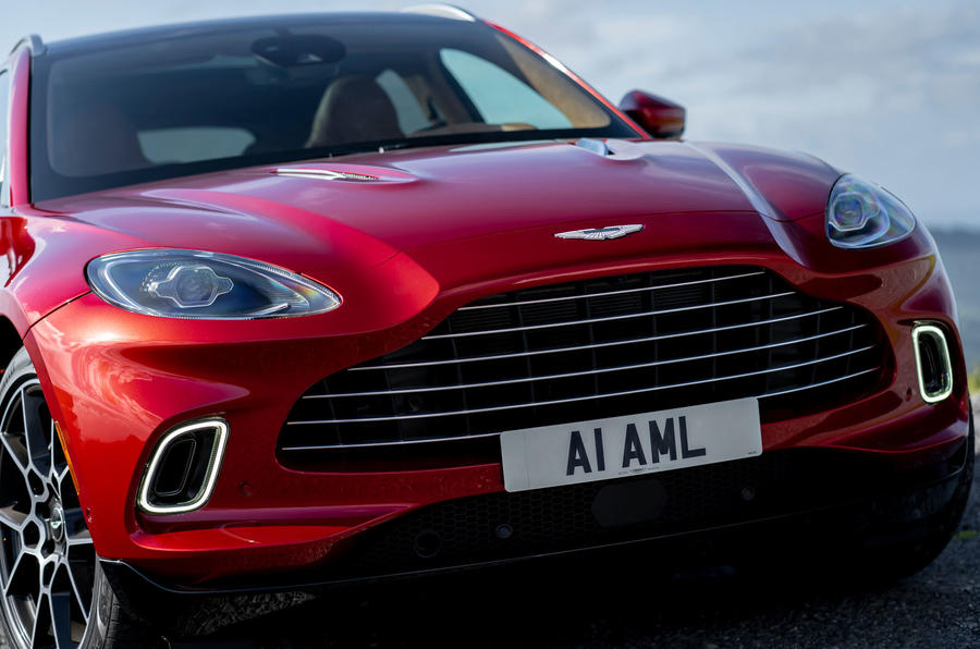 Aston Martin DBX 2020 UK first drive review - nose