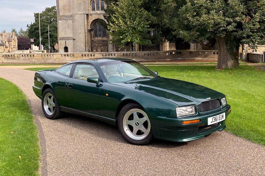 Aston Martin Virage - front