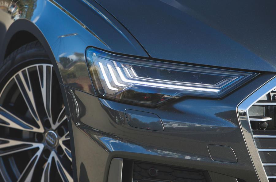 Audi A6 2018 long-term review - headlights