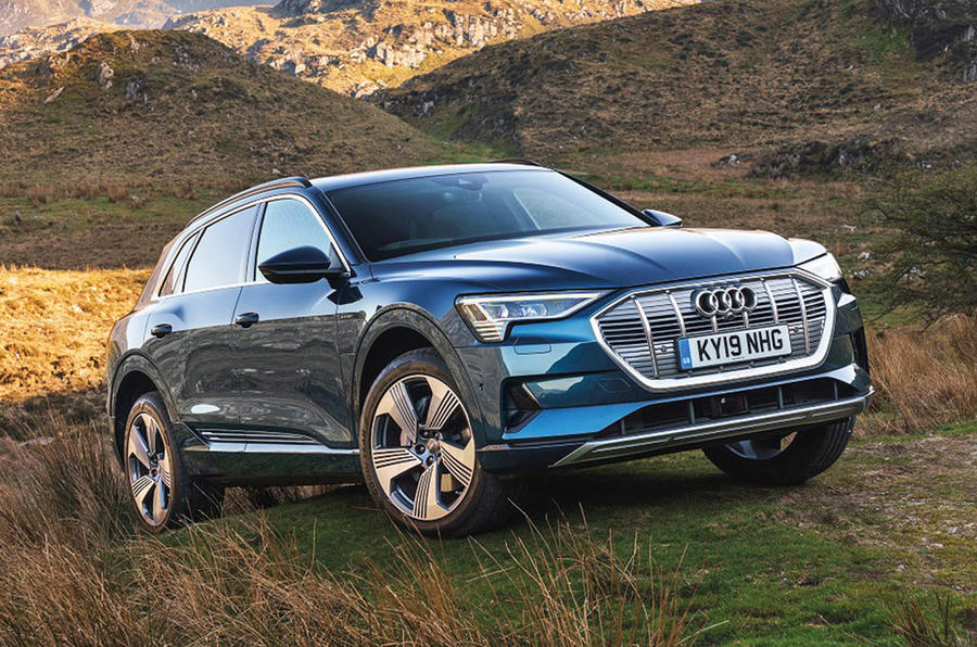 Audi E-tron - hero front