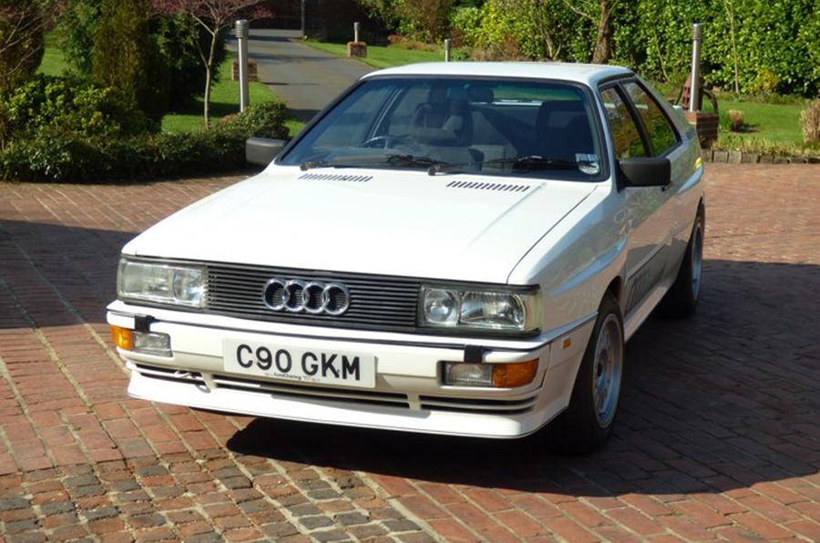 Audi Quattro - static front