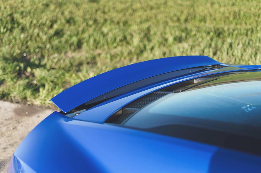 Audi R8 2019 UK first drive review - spoiler