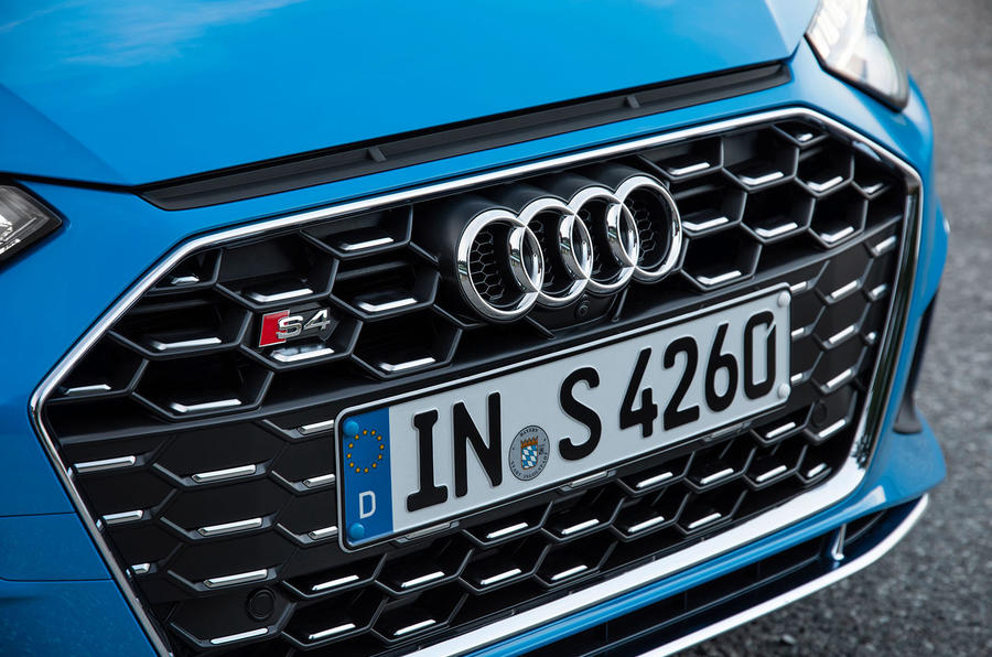Audi S4 2019 first drive review - front grille