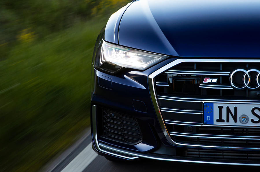 Audi S6 2019 first drive review - front end