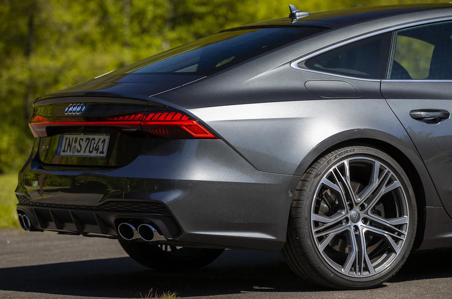 Audi S7 TDI 2019 first drive review - rear end