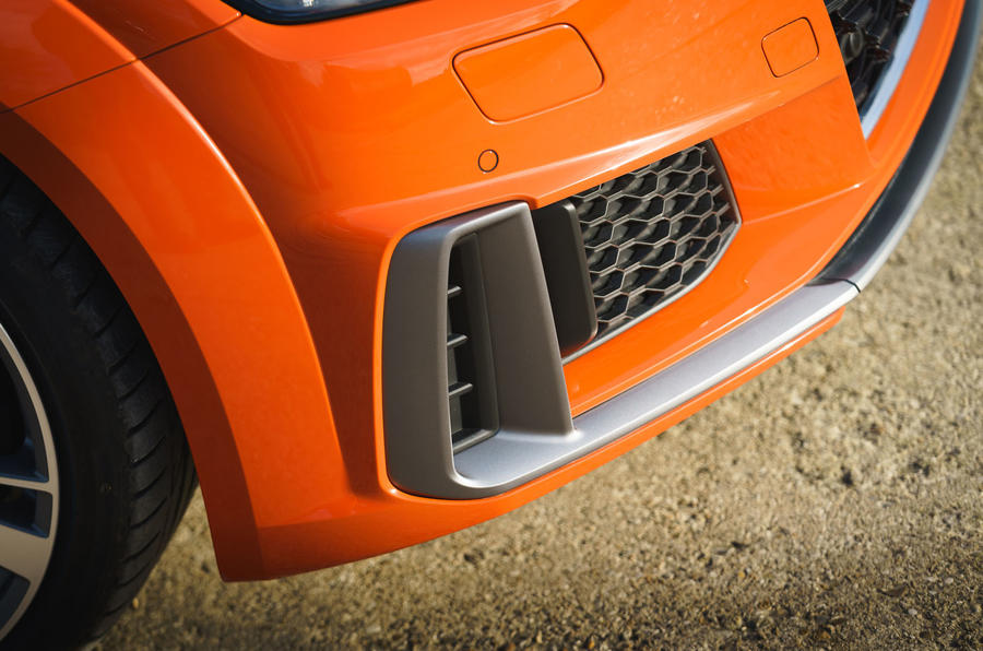 Audi TT Coupe 2019 UK first drive review - front bumper