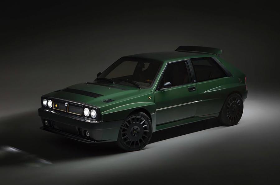 Automobil Amos Lancia Delta Futurista front