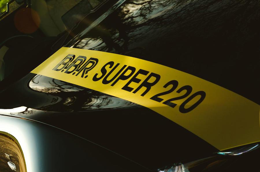 BBR GTI Mazda MX-5 Super 220 2020 UK first drive review - bonnet decals