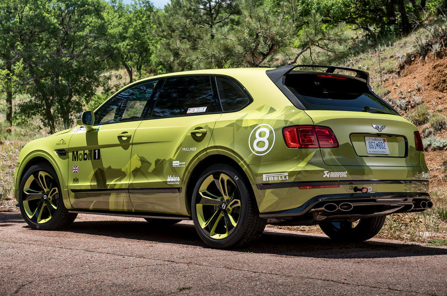 Bentley Bentayga Pikes Peak launched to celebrate record run