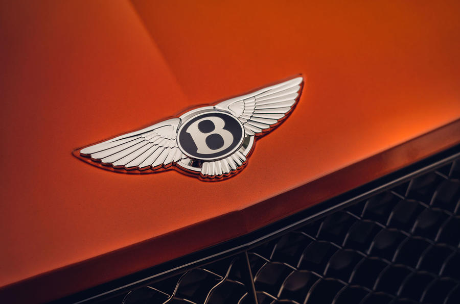 Bentley Bentayga 2020 UK first drive review - nose badge