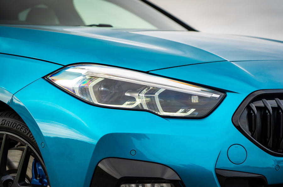 BMW 2 Series Gran Coupe 220d 2020 UK first drive review - headlights