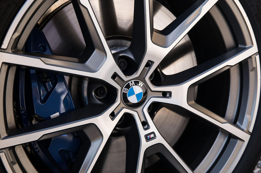 BMW 840d 2019 first drive review - alloy wheels
