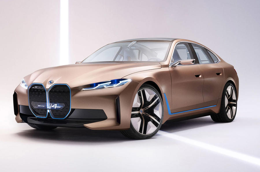 BMW i4 Concept 2020 - static front