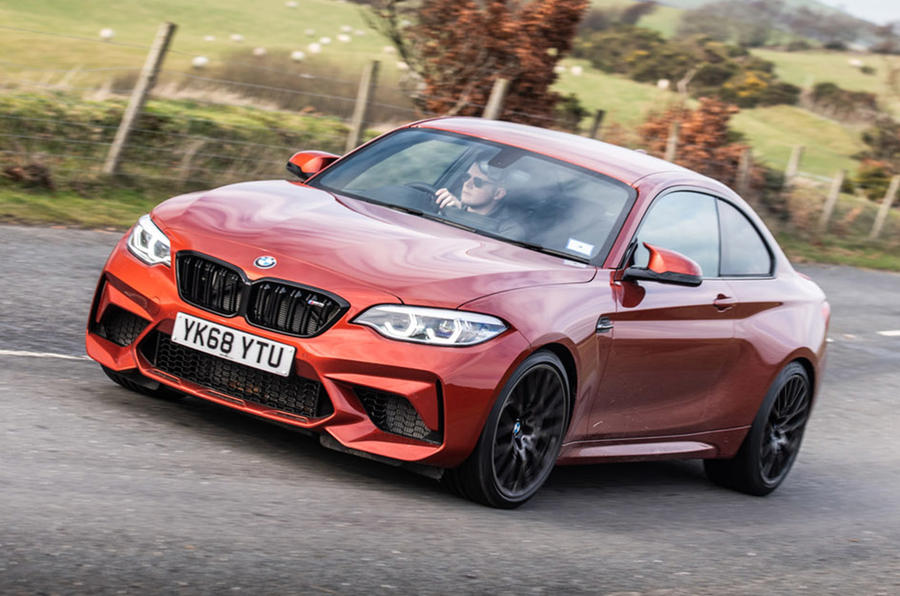 BMW M2 Competition - hero front