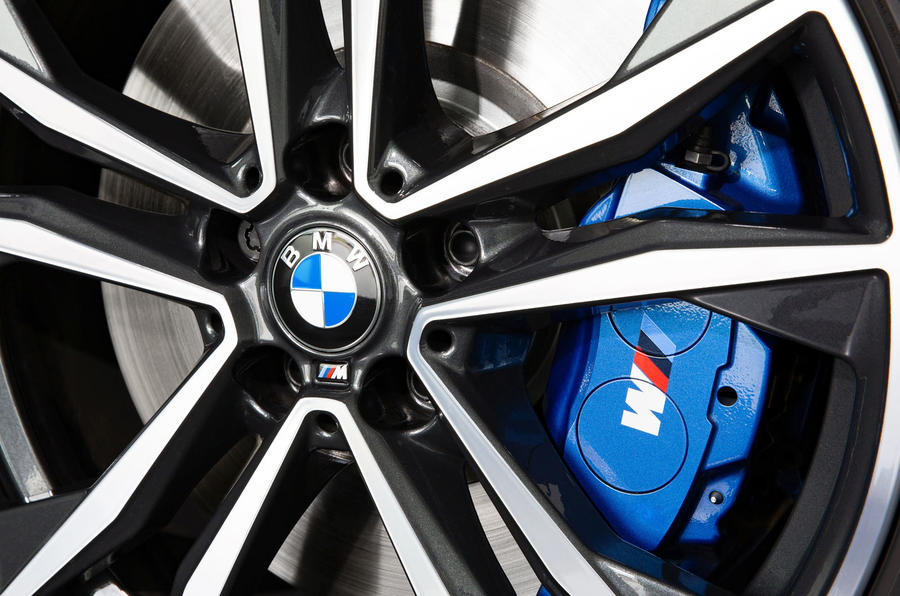 BMW X2 M35i 2019 first drive review - alloy wheels