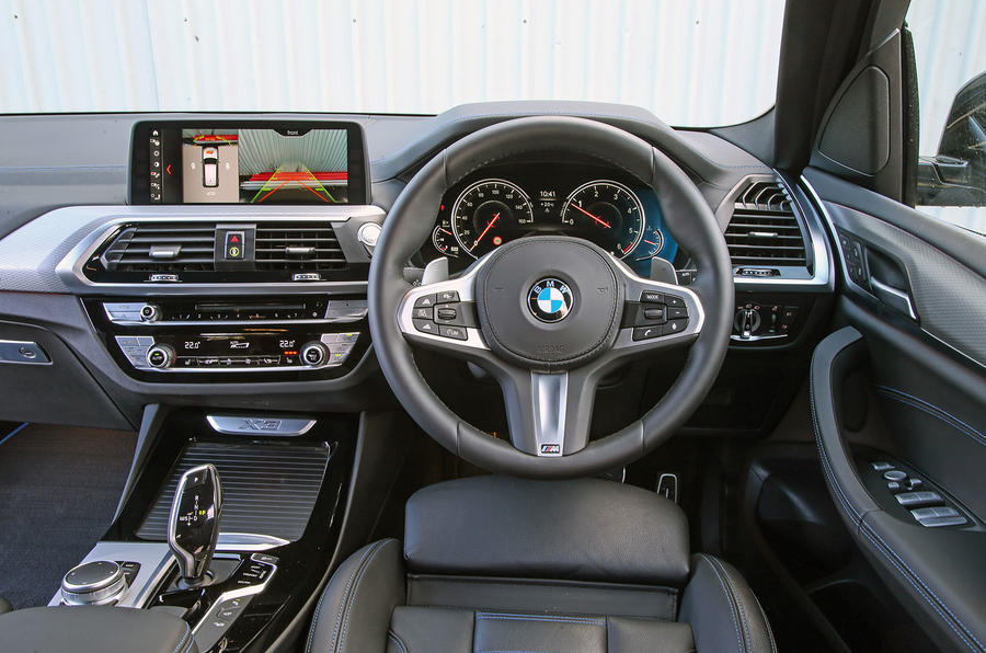 BMW X3 xDrive30e 2020 UK first drive review - dashboard