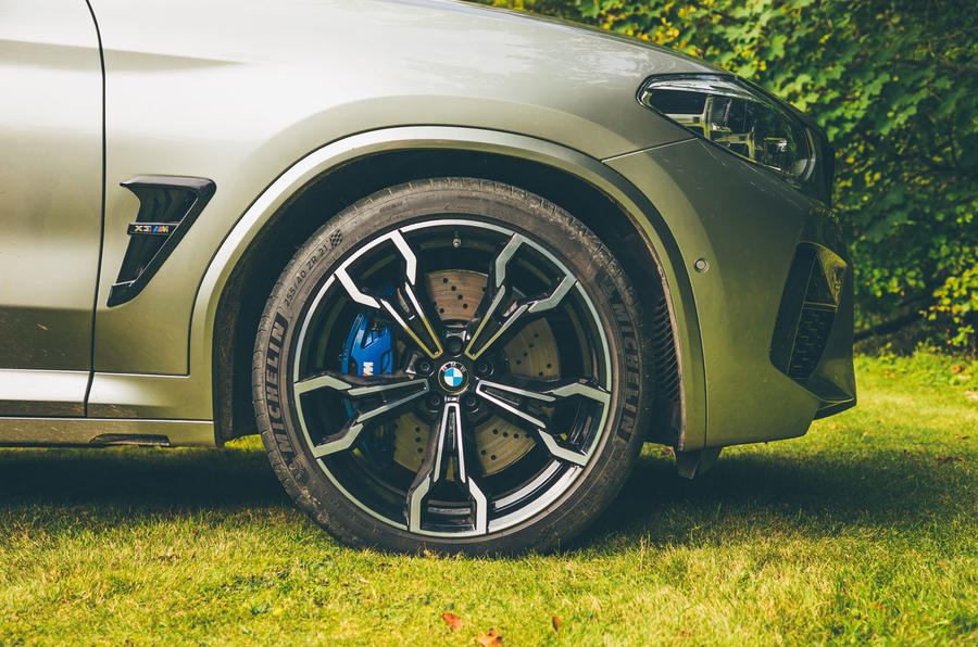 BMW X3 M Competition 2019 UK first drive review - alloy wheels
