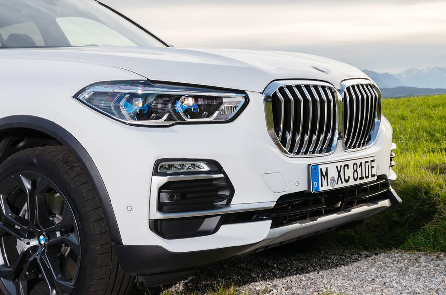 BMW X5 xDrive 45e 2019 first drive review - front end