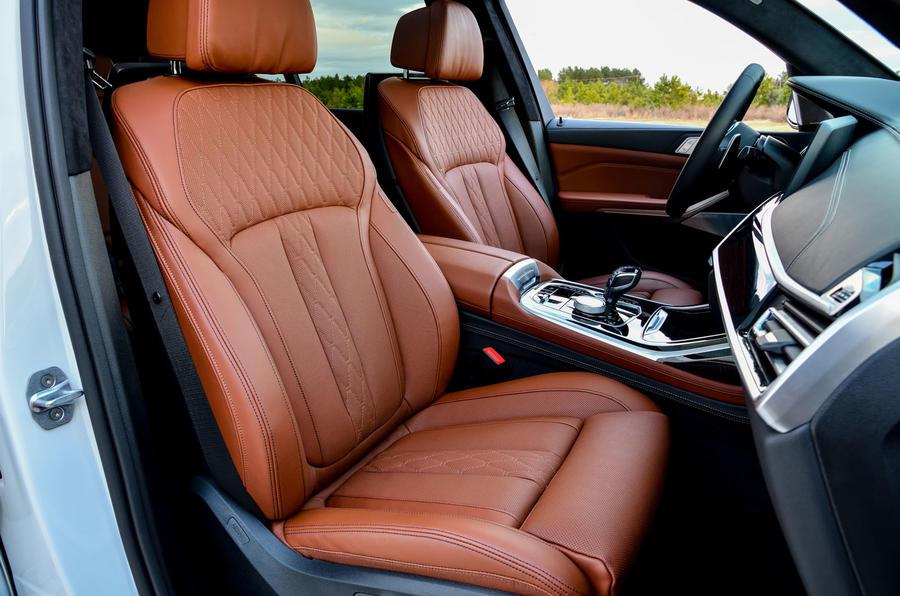 BMW X7 M50i 2020 : premier bilan de conduite - cabine