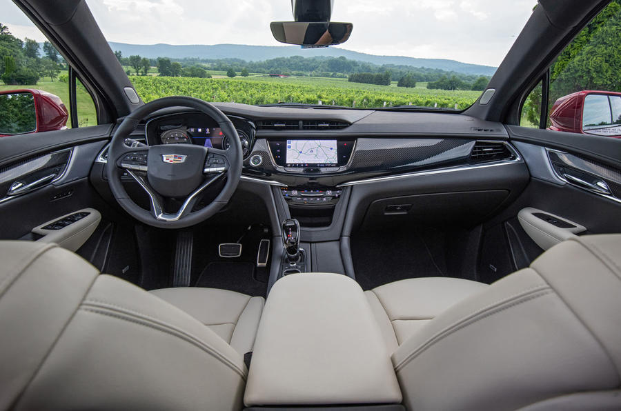 Cadillac XT6 Sport 2020 first drive review - dashboard