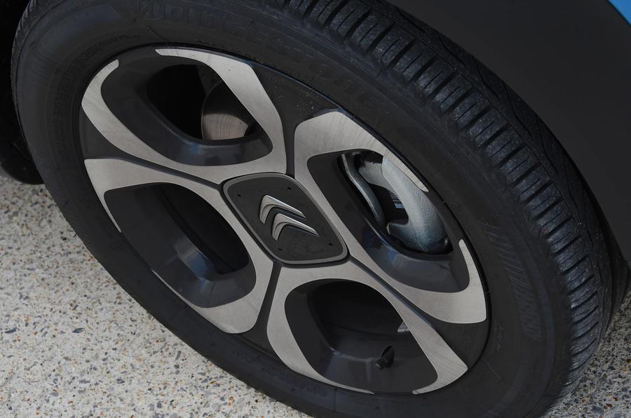 Citroen C3 Aircross Flair Puretech 130 long-term review - alloy wheels