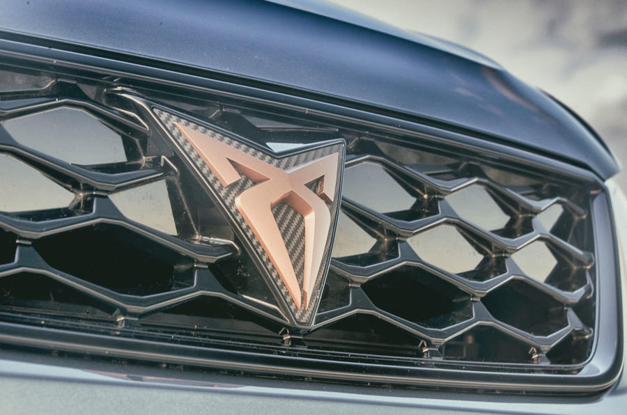 Cupra Ateca 2018 first drive review - Cupra badge