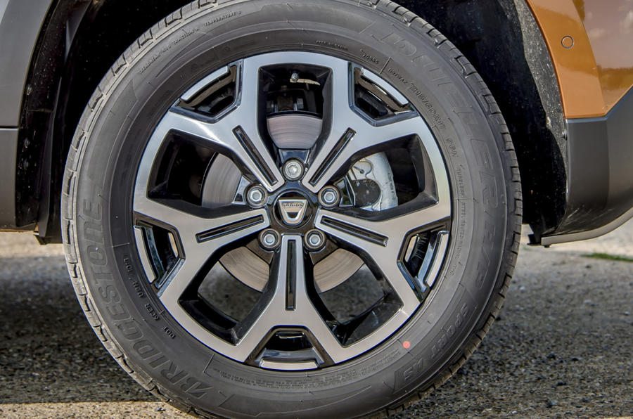 Dacia Duster 2018 first drive review alloy wheels