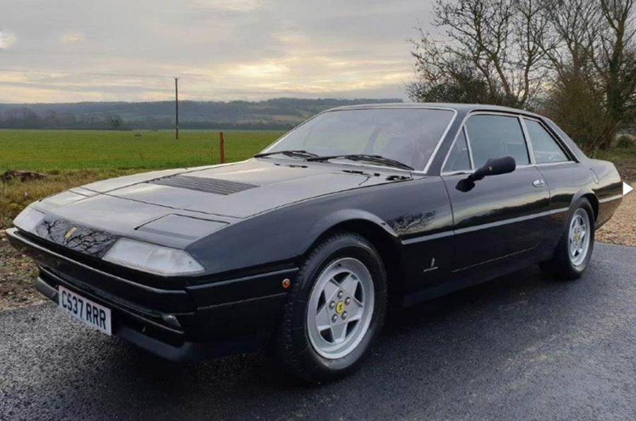 Ferrari 412 1986 - static front