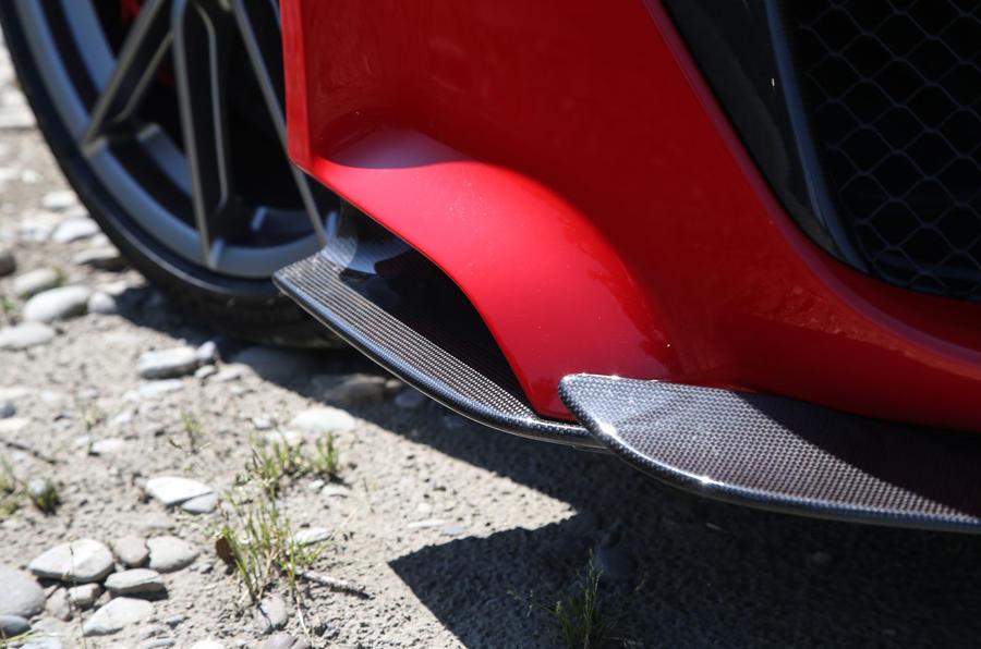 Ferrari 488 Pista 2018 review canards