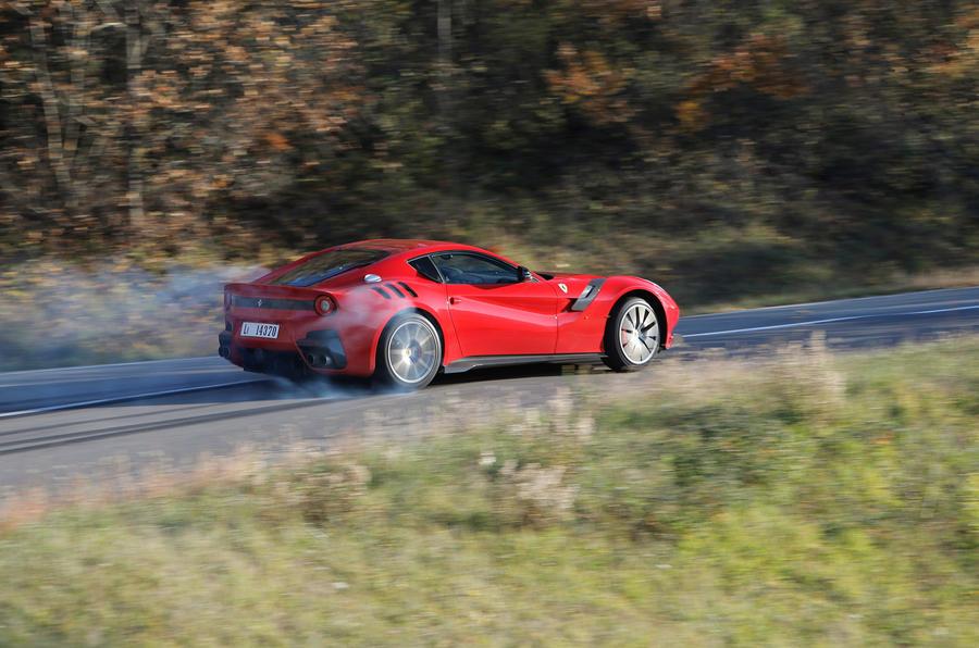 Ferrari F12TDF - hero side