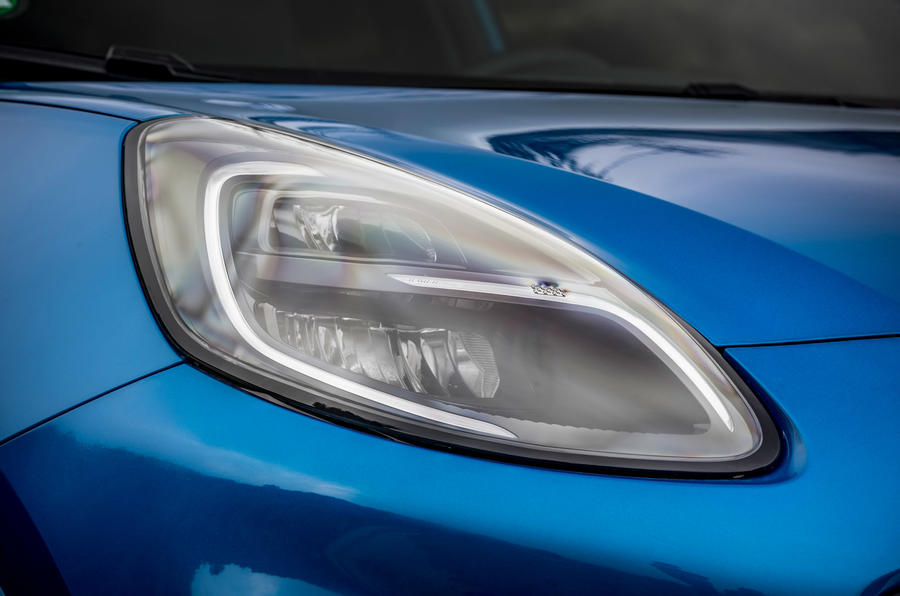 Ford Puma 2020 first drive review - headlights