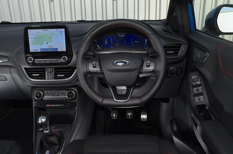 Game Changer 2020 Ford Puma - interior