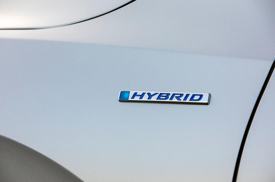 Honda Insight 2019 first drive review - hybrid badge