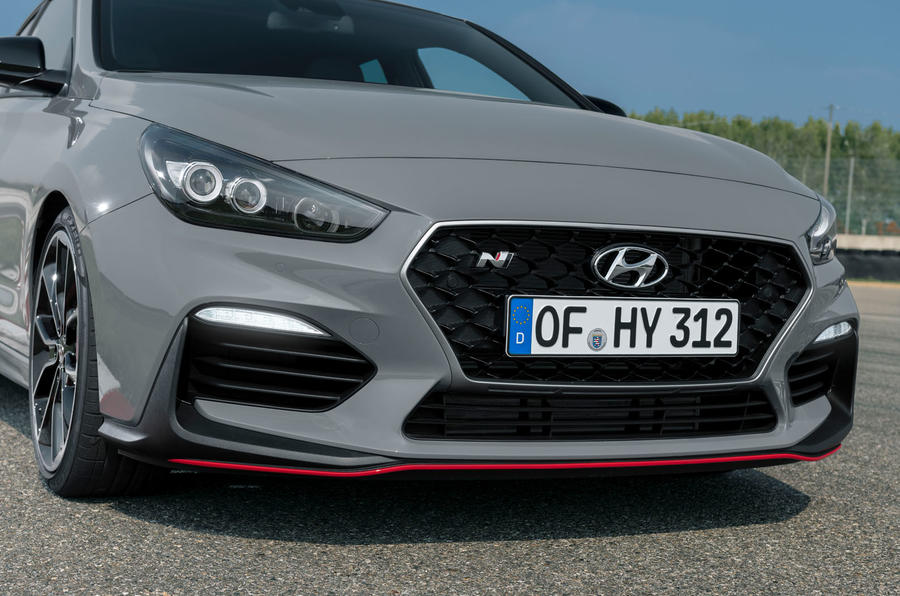 Hyundai i30 Fastback N 2019 first drive review - nose