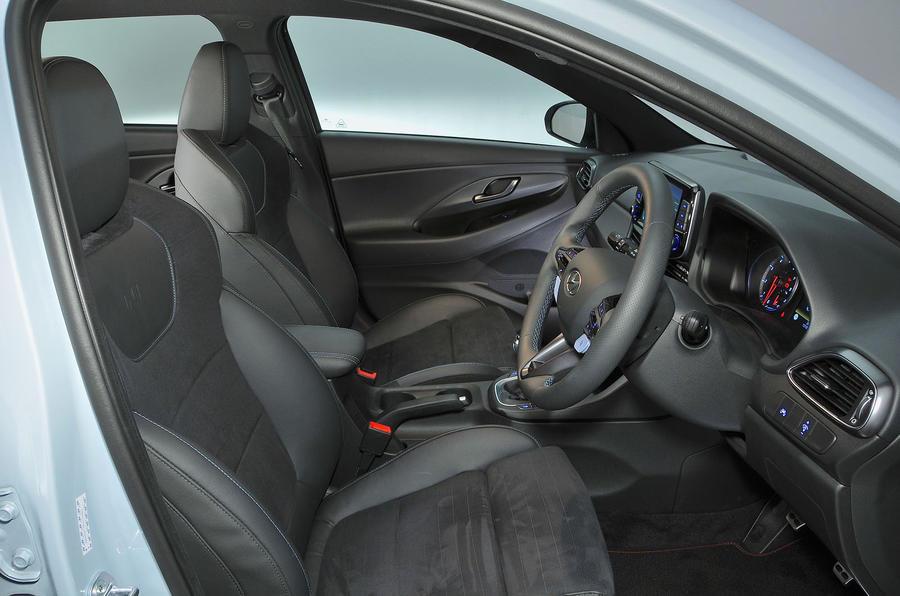 Hyundai i30 N 2018 UK review cabin