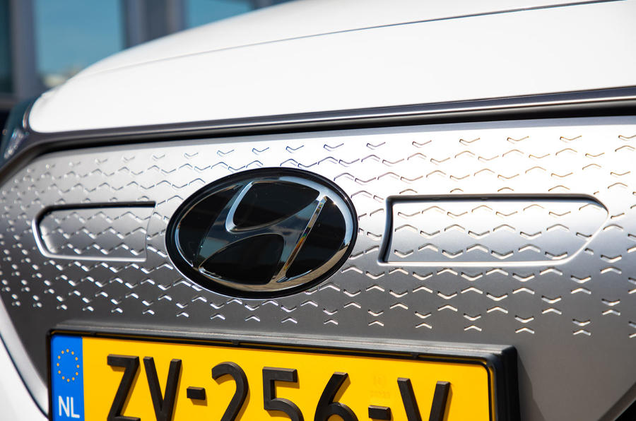 Hyundai Ioniq Electric 2019 first drive review - front bumper