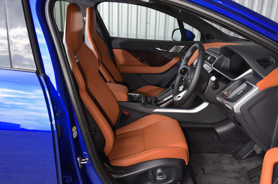 Jaguar I-Pace EV400 UK first drive review cabin
