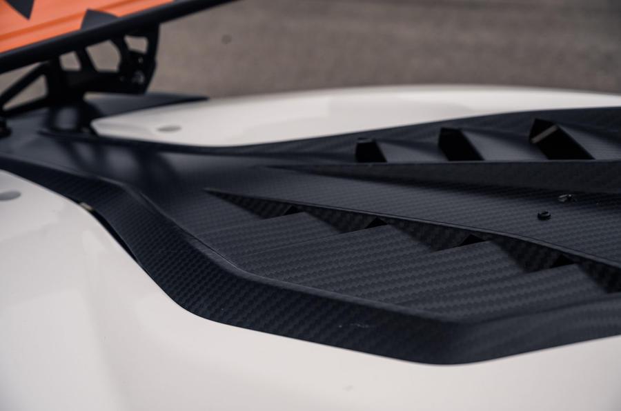 KTM Xbow Darkside developments demonstrator - carbon fibre