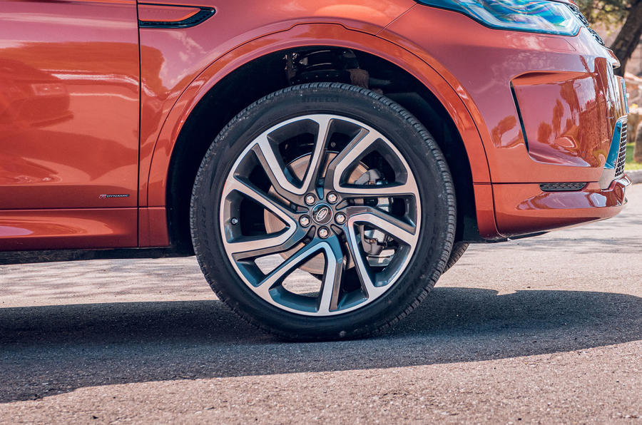Land Rover Discovery Sport 2019 first drive review - alloy wheels