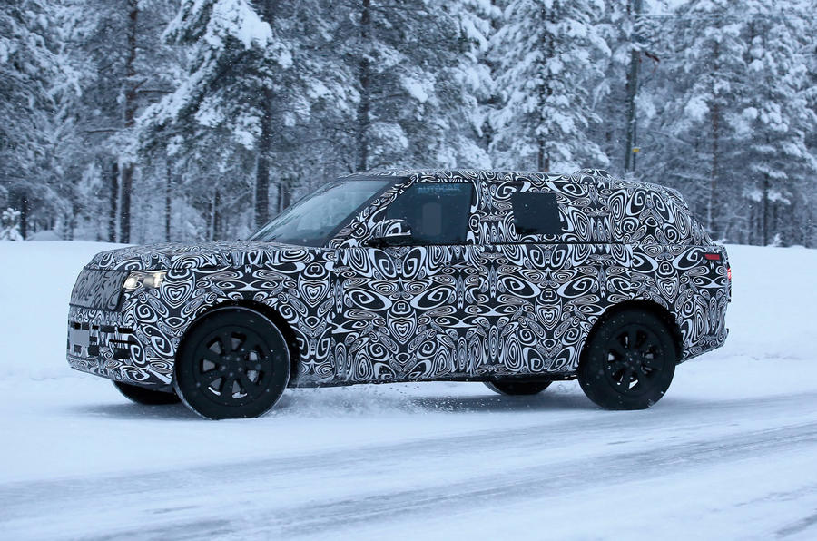 Land Rover Range Rover 2020 - spy shot
