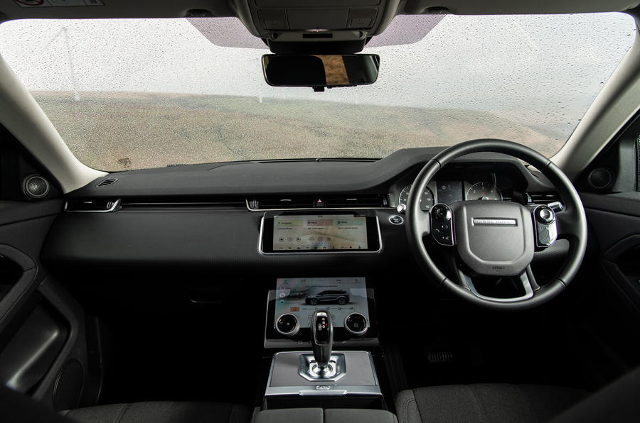 Land Rover Range Rover Evoque P200 2019 UK first drive review - dashboard