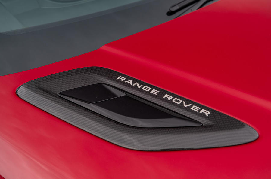 Land Rover Range Rover Sport HST 2019 UK first drive review - bonnet vent