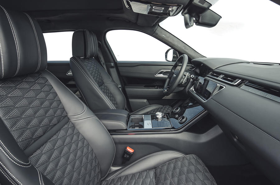 Land Rover Range Rover Velar SVAutobiography 2019 first drive review - front seats