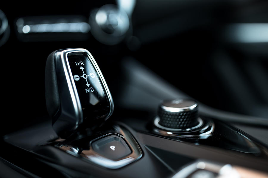 Lynk & Co prototype gearstick