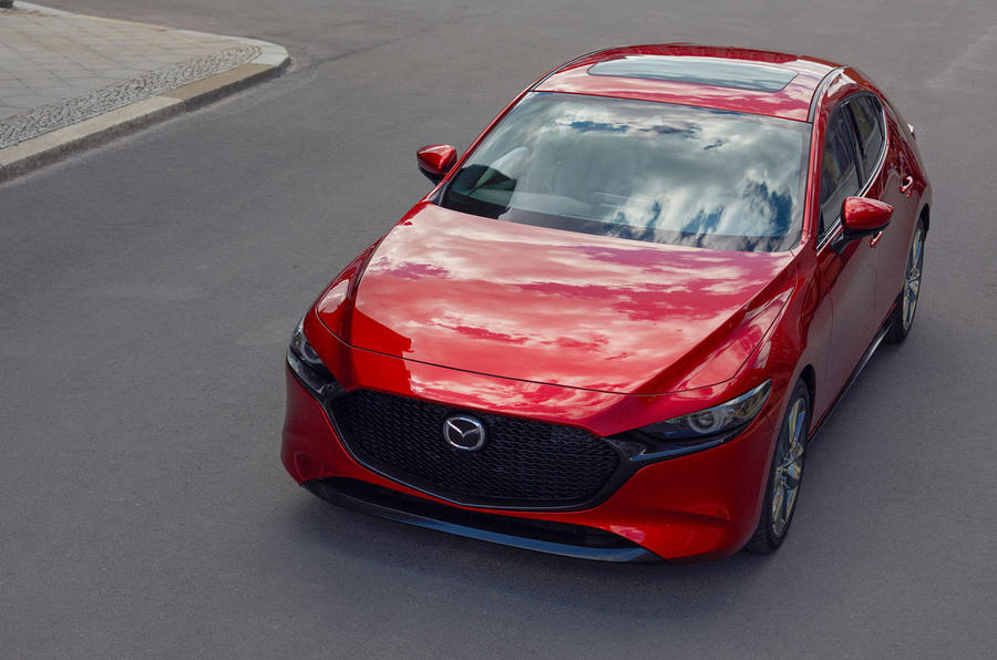 Mazda3 2018 official reveal - nose