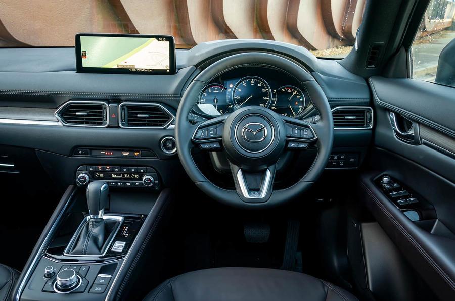 4 Mazda CX 5 2021 : première cabine d'examen de conduite au Royaume-Uni