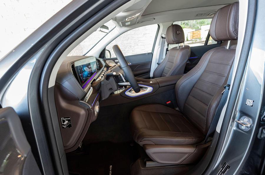 Mercedes-Benz GLS 400D 2019 first drive review - cabin