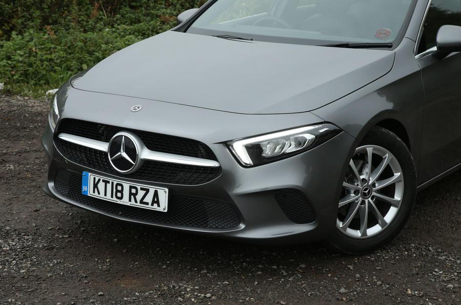 Mercedes-Benz A-Class 2018 long-term review - front end