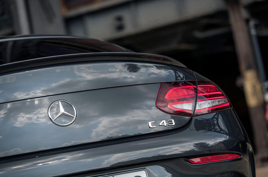 Mercedes-AMG C43 2018 first drive review boot