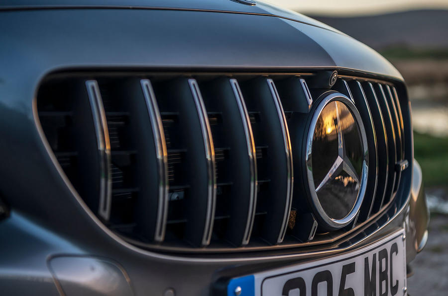 Mercedes-AMG C63 S Estate 2019 first drive review - nose